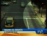 El irrespeto a las señales de tránsito pone en riesgo la integridad de los peatones