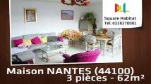A vendre - Maison/villa - NANTES (44100) - 3 pièces - 62m²