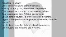 Stromae feat. Maître Gims & Orelsan - AVF (Lyrics Video)
