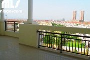 FULLY FURNISHED JUMEIRAH VILLAGE TRIANGLE GREEN PARK 1 BEDROOM FOR RENT BEST PRICE  85K - mlsae.com