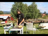 Tinyhouse on wheels in Sweden