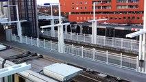 RET Metro RSG3 Lijn C Tussenwater Aankomst+Vertrek Richting De Akkers!! in Hoogvliet (Rotterdam)