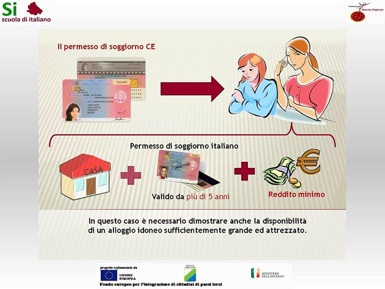 11 - Il permesso di soggiorno CE per soggiornanti di lungo periodo - Scuola  di italiano