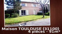 A vendre - Maison/villa - TOULOUSE (31100) - 4 pièces - 91m²