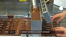euronews science - تناول الشوكولاتة يحمي من السكتة الدماغية