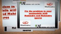 Fix the problem in your automobile with Mahindra and Mahindra spares