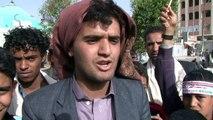 Yémen : les pro-houthis manifestent à Sanaa