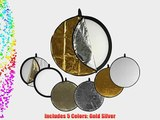 Impact 5-in-1 Collapsible Circular Reflector Disc - 32
