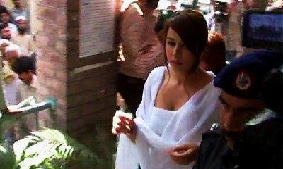 Model Ayyan Ali appearance in court