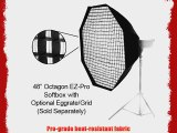 Fotodiox Studio Solutions EZ-Pro 48 Octagon Softbox with Soft Diffuser and Speedring Bracket