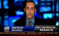 Million Muslim March Debate Turns To Heated Anti-Semite Debate, Hannity Chris Phillips
