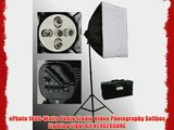 ePhoto 1000-Watts Photo Studio Video Photography Softbox Lighting Light Kit VL9026SONE