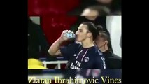 Man stört Zlatan Ibrahimovic nicht beim trinken/ don't Touch Zlatan Ibrahimovic while he's drinking