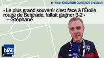 """Mon souvenir du stade - Stéphane : """"Face à l'Étoile rouge de Belgrade, fallait gagner 3-2"""""""