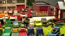 Old Wrecked Toy Car Scrapyard - Toy Truck Wrecks
