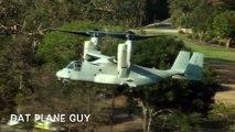 G20 Barack Obama Marine One VH-3's and Osprey V-22's Landing in Brisbane