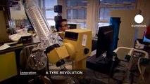 euronews innovation - Neumáticos hechos con diente de león y guayule