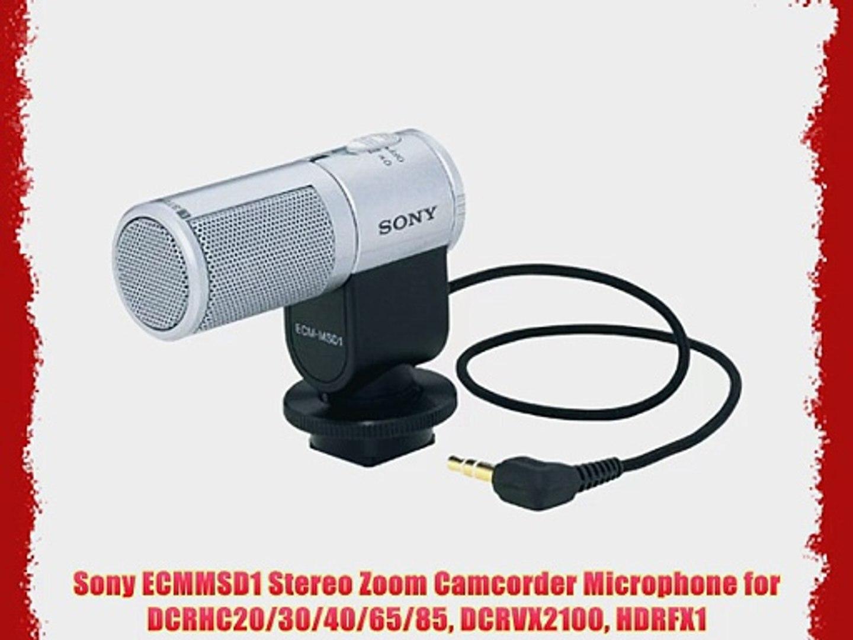 Microphone sony camcorder Sony Handycam