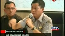 AirAsia plane with 162 on board missing en route to Singapore