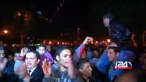 Anti-Islamist Essebsi wins Tunisian presidential election - Tunisia celebrations