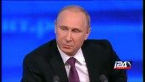 Russian President Vladimir Putin on Russian economy