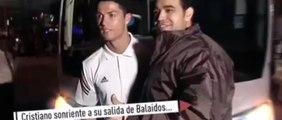 Cristiano Ronaldo fait des blagues aux journalistes