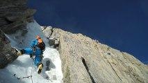 Goulotte Non Stop Mont-Blanc du Tacul Chamonix Mont-Blanc alpinisme