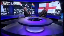 Tommy Robinson on BBC Newsnight after quitting the EDL with Kev Carroll 08/10/2013