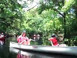 A canoe trip down the Withlacoochee River, Florida (south river)