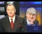 Death of Dermot Morgan aged 45 reported on RTE News, March 1998
