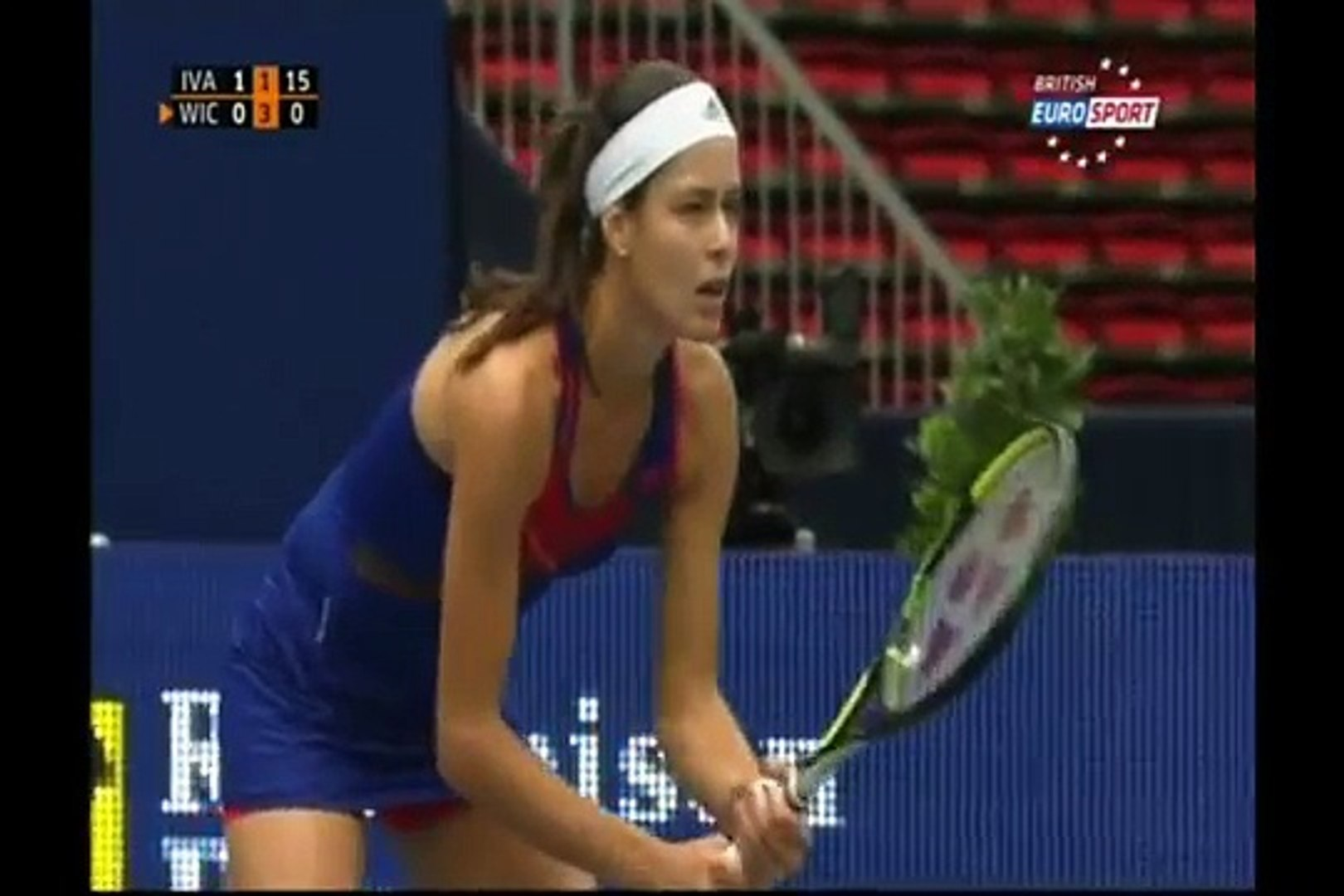 Ana Ivanovic Breasts wta tennis babes breasts bounce ivanovic wicmeyer - video