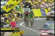 Floyd Landis wins the tour de france