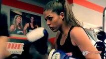 Female fitness bodybuilding motivation - sweat!