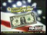 Disabled Vets Fund Raising Scandal