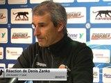 (J34) Auxerre 1-1 Laval, réaction de D. Zanko