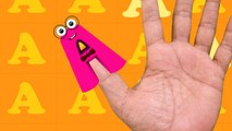 Finger Family - Alphabets - Alphabet Songs & Kids Club Songs - English Nursery Rhymes & ABC Songs for Children