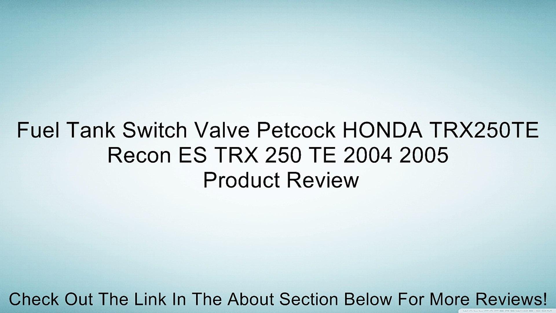 New Petcock Gas Fuel Tank Switch for HONDA TRX250EX Sportrax TRX 250 EX 2004 2005 2006