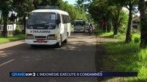L'Indonésie exécute huit condamnés à mort