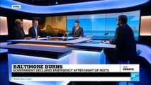 Baltimore Burns: State of Emergency Declared After Night of Riots (part 2)