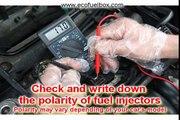 How to install E85 ethanol conversion kit EcoFuelBox on gas car
