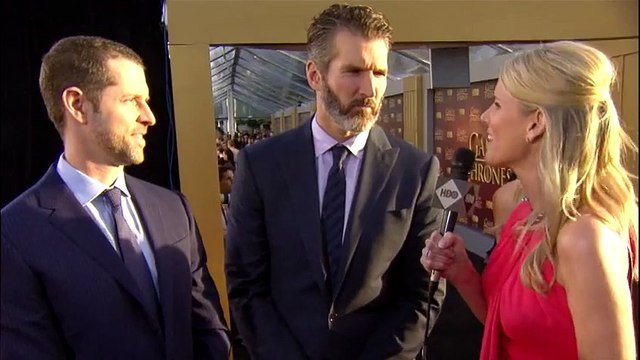 #GoTPremiereSF Live Stream D.B. Weiss & David Benioff (HBO)