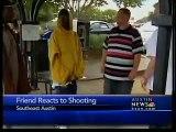 Shooting victim's friend speaks