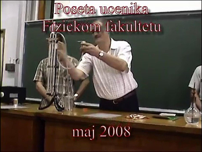 Zanimljivi ogledi  (maj 2008)  -  Saša Ivković i studenti