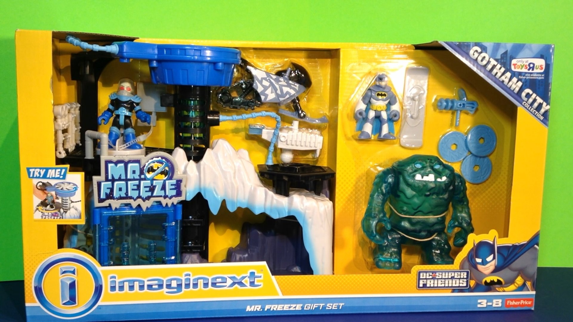 Imaginext M Freeze repaire avec M Freeze et BATMAN figures