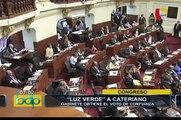 Gabinete Cateriano obtiene el voto de investidura del Congreso