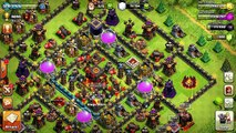 Clash of clans - Back to the past w/ Hog riders! (Mass hog attack)