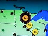 10.25.12 101 Counts Per Minute Radiation Minnesota Wisconsin 540p
