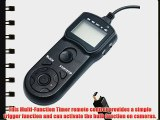 JJC TMJ LCD Timer Remote Control for Olympus SP-510 UZ SP-550 UZ SP-560 UZ SP-565 UZ SP-570