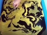 SWIRLING(Yellow & Black Custom Guitar)