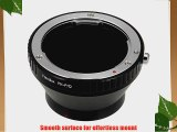 Fotodiox Lens Mount Adapter Pentax K Lens to Pentax Q Series Camera